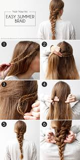 Hairstyle Easy Summer Braid 86403