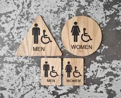 Printable Handicap Bathroom Signs by California Title 24 Restroom Signs Ada Compliant Bathroom