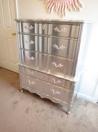 DIY mirrored furniture love this look did it too my dresser in my