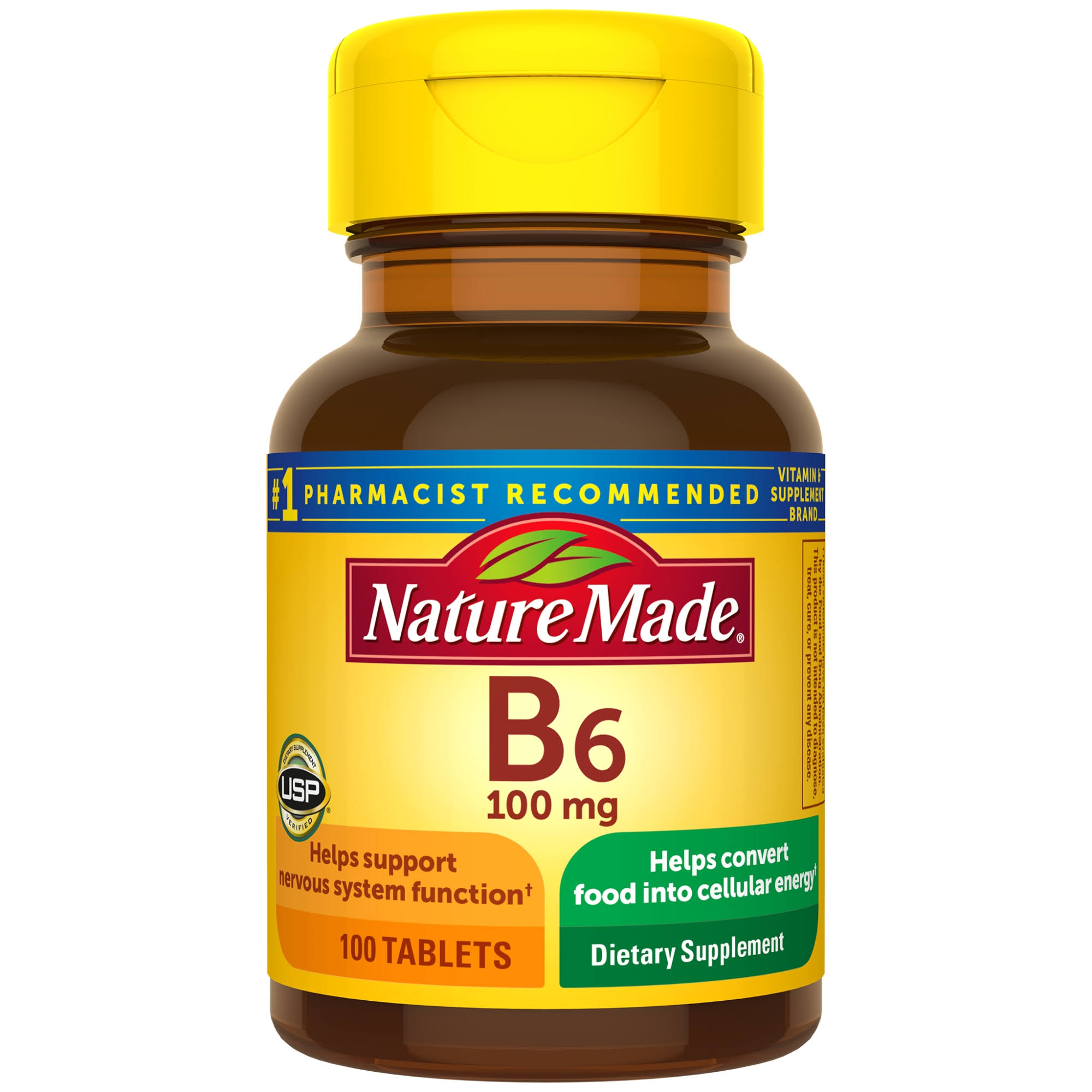 Nature Made B6 Vitamin - 100 mg, x100
