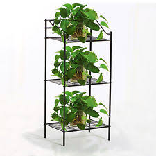 Outdoor Patio Plant Stands by Garden Plant Display Corner 3 Tier Layer Rack Flower Pot Stand
