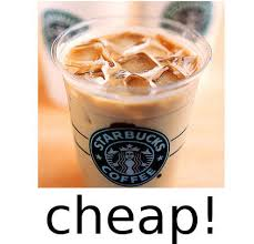 Picture Of How To Get Huge Discount On A Starbucks Iced Latte Without Doing Anything Shady