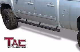 TAC Side Step Fit 07-18 Chevy Silverado 1500/2500/3500 Crew Cab ... Stunning Silverado Style Graphics And Tonneau Topperking Chevy Truck Accsories 2005 Favorite Pre Owned 2003 Chevrolet 2018 1500 Commercial Work Parts Best 40 Beautiful 2014 Rochestertaxius 2017 Leer 100xl Sporty With 700 Steps Midiowa Upholstery Ames Iowa Trucks D Pinterest Vehicle Projector Headlights Car 264275bkc