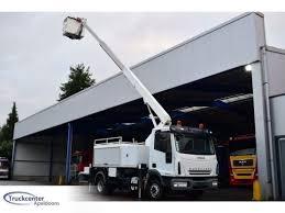 100 Truck Mounted Boom Lift Iveco Eurocargo 120EL18 165 Meter ESDA TL1650 Euro 5 Boom Lift Truck Snlcom