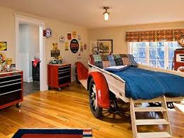 Awesome Bedroom For A Boybed Is Made Out Of An Actual Old Truck