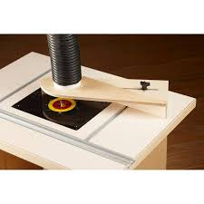 router table dust hood woodworking plan from wood magazine