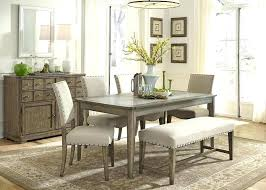 Upholstered Dining Bench With Backrest Image Of Simple
