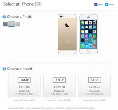 iPhone 5s unlocked hits UK Apple Store but won t ship for 7 10