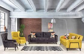 casa padrino luxus schlafsofa gelb schwarz 215 x 90 x h 80 cm modernes wohnzimmer sofa moderne wohnzimmer möbel