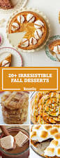 Easy Pumpkin Desserts With Few Ingredients by 30 Easy Fall Desserts Best Recipes For Autumn Desserts