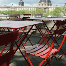 Fermob French Bistro Chairs by Bistro Metal Folding Chair Fermob Shop
