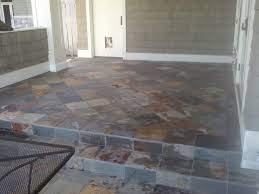 Thinset For Porcelain Tile Over Ditra by Exterior Tile Installation Over Occupied Space Diytileguy