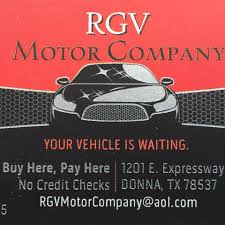 RGV MOTORS COMPANY In DONNA TX | Tire Shop Near Me
