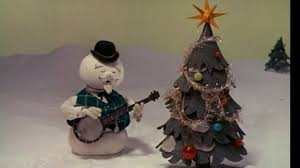 Frosty Snowman Christmas Tree by Silver And Gold