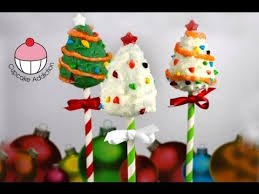 Rice Krispie Christmas Tree Pops by Christmas Cake Pops Decorate Christmas Tree Cakepops A Cupcake
