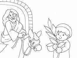 Ourpreciouslambs Wordpress Palm Sunday Coloring Page