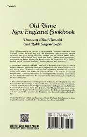 Christmas Farm Inn Jackson Nh Menu by Old Time New England Cookbook Duncan Macdonald Robb Sagendorph