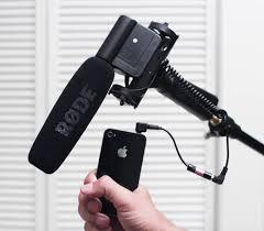 iPhone 4 as audio recorder with external mic a parison Dan