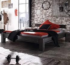 hasena factory line loft stil bett san luca akazie vintage grey 160x200