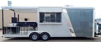Food Truck, Barbeque Concession Trailer Mobile Kitchen - Bluecreekmalta