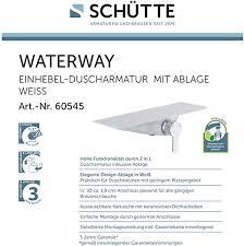 armaturen für bad küche duscharmaturchrom mit ablage