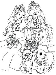 Barbie Coloring Games Free Download Great Pages On Gallery Ideas Princess Printable Book Medium Size