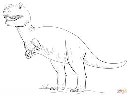 Coloriage Tyrannosaurus Rex Coloriages à Imprimer Gratuits