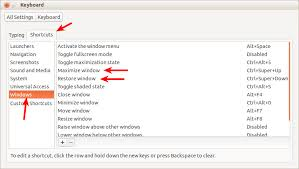 Tiling Window Manager Ubuntu by Shortcut Keys How Can I Setup Hotkeys For Tiling Individual