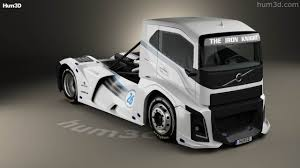 100 Knight Truck 360 View Of Volvo The Iron 2016 3D Model Hum3D Store