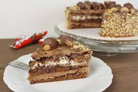 kinder bueno torte backen torten rezepte absolute lebenslust