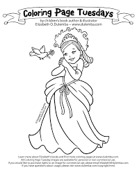 This Week I Share A Pretty Princess Need Say More Click Here To View The Entire Coloring Page Tuesday Collection