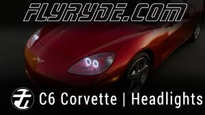 chevy c6 corvette led eye headlights by flyryde