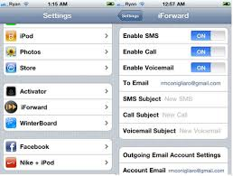 Get Your iPhone Calls SMS and VoiceMail Sent to Your E mail with