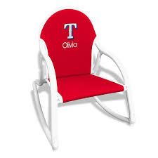 Personalized Texas Rangers Rocking Chair Red 0 All Seasons Equipment Heavy Duty Metal Rocking Chair W The Top Outdoor Patio Fniture Brands Cane Back Womans Hat Victorian Bedroom Remi Mexican Spalted Oak Taracea Leigh Country With Texas Longhorn Medallion Classic Porch Rocker Ladderback White Solid Wood Antique Rocking Chair Wood Rustic Pagadget Worlds Largest Cedar Star Of Black