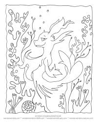 Animal Under The Sea Coloring Pages
