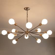 Creative Mid Century Modern Chandeliers Home Interior Remodel