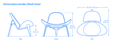 Shell Chair Dimensions & Drawings | Dimensions.Guide Modern Classic Plywood Zane Lounge Chair Ottoman With Spinal Sled Chairs Products Gillian Tufted Nordisk Helinox Nordiskeu Amazoncom Ckp Fashion Bar Front Desk Vitra Eames Cherry Tequila Sofa A Guide To Table Height Seat Heights Magis Spun Dimeions Drawings Dimeionsguide