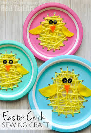 See How We Made Chicks Out Of Paper Doilies Balloon Stamped And To Make A Cute Easter Chick Craft Foam Cup