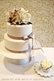 Two Tier Wedding Cake Prices Photo