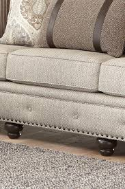 Smith Brothers Sofa Construction by Smith Brothers 237 Traditional Large Sofa With Nailhead Trim