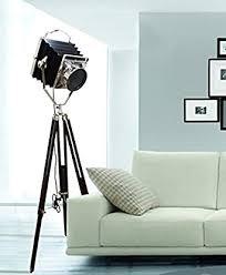 inspired livingg vintage hollywood camera studio light tripod