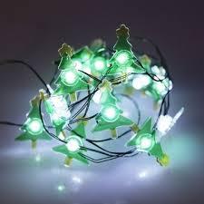 China Hot Christmas Tree Shape Waterproof LED String Light For Decoration
