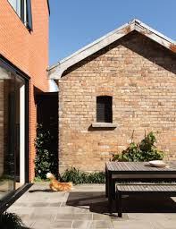 100 Brick Walls In Homes This Stylish Home Will Make You Want Brick Walls And A Gabled Roof
