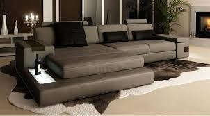 intérieur et canapé canapé d angle en cuir design avignon intérieur canape cuir et