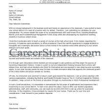 Resume For High School Teacher Letter Sample English Science