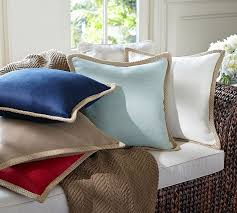 Pottery Barn Large Decorative Pillows by Jute Braid Pillow Cover Pottery Barn