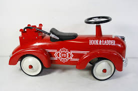 Vintage Kids Ride On Fire Truck Babystyle Hook & Ladder Classic ... Paw Patrol Fire Truck 6 Volt Powered Ride On Toy By Kid Trax Fisherprice Power Wheels Paw Battery Powered Rideon Vintage Kids Babystyle Hook Ladder Classic New Electric Engine On Car Lisbon Student Earn A Ride Fire Truck News Sports Jobs 6v Toddler Quad Fisher Price In Dunfermline Fife Gumtree Vilac Wooden 2 In 1 Toddlers 18 Months Red 26095 All Things For Vehicles Sportrax Big Rig Rescue 4wd Marshall