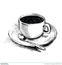 How To Draw A Coffee Cup Hand Drawing Drawn Wallpaper Oae