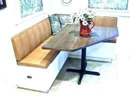 Corner Dining Room Table With Bench Breakfast Set Nook And Chairs