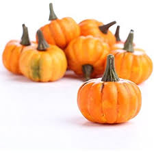Carvable Foam Pumpkins Hobby Lobby by Amazon Com Factory Direct Craft Bag Of 16 Artificial Fall Harvest